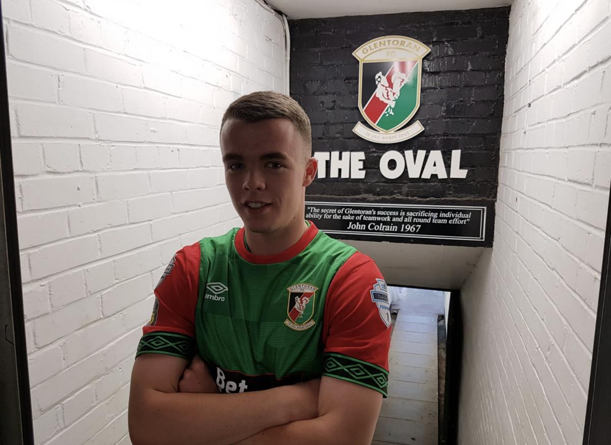 Chris Gallagher Joins Glentoran   Glentoran FC