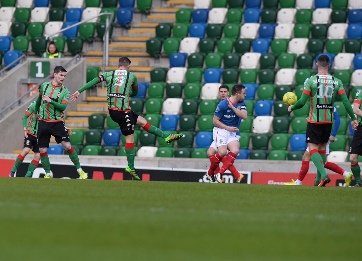 Linfield 1-1 Glentoran | Glentoran FC
