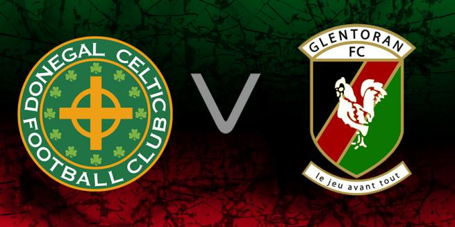 Donegal Celtic v Glentoran